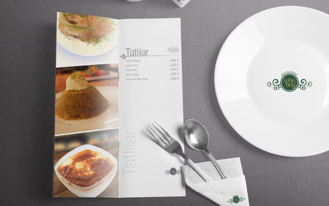 Şahinbey Restaurant Menü